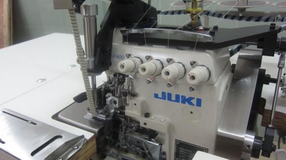 拷邊縫紉機機頭